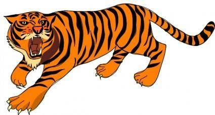 Tigre03 clip art