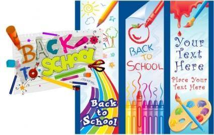 Free Vector Graphics ? School Set