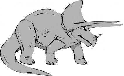 free vector Dinosauri clip art