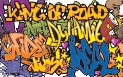 free vector 150 Graffiti vector symbols