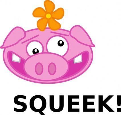 free vector Squeek! clip art