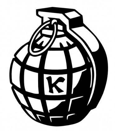 Kallisti-grenade 1 clip art