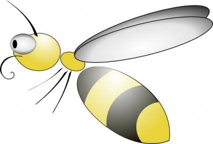 free vector Bee clip art