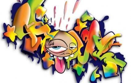 free vector Graffiti Artwork
