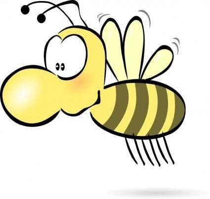 Bee2 clip art
