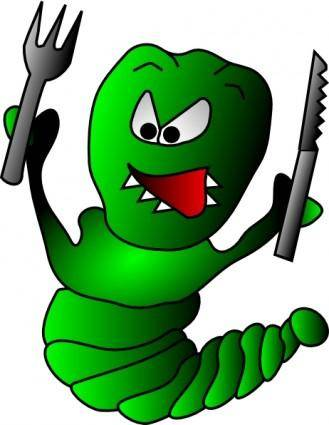 free vector Caterpillar clip art