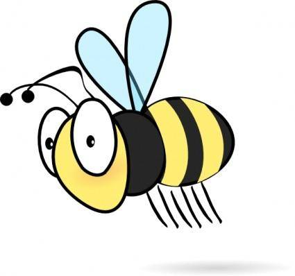 free vector Bee3 clip art