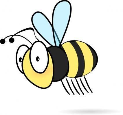 Bee3 clip art
