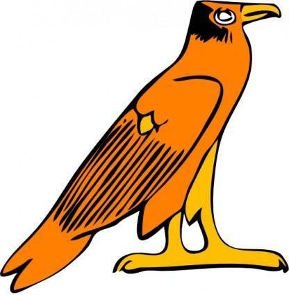 Pharoa Eagle clip art
