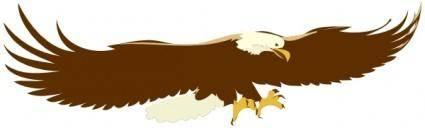free vector Soaring Eagle clip art