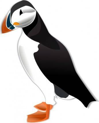 free vector Puffin Md clip art
