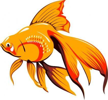 Golden Fish clip art