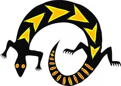 Lizard clip art