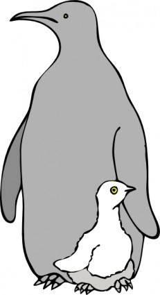 free vector Pinguino Col Piccolo clip art