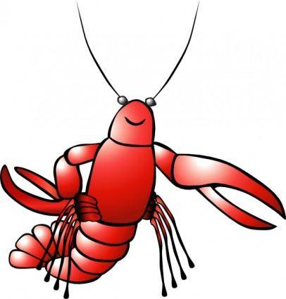 free vector Crawfish clip art