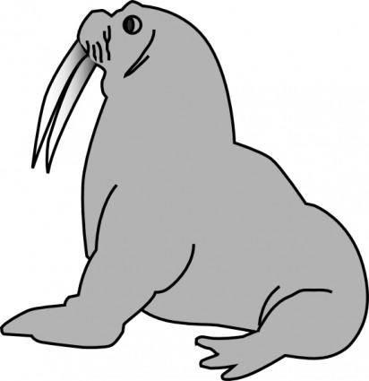 free vector Seal clip art