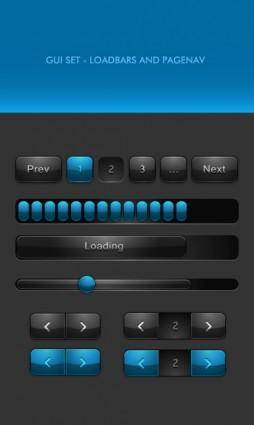 free vector Classic web buttons 04 vector