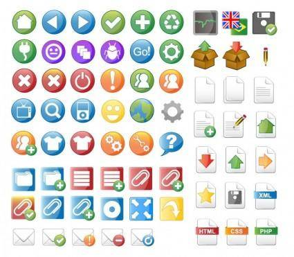 free vector Vector Icon Set for Web Design