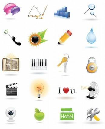 Vector Web Icon Collection