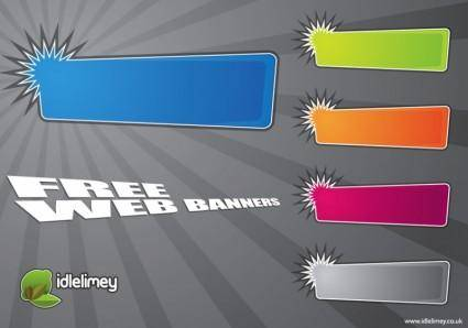 free vector Promo Web Banners