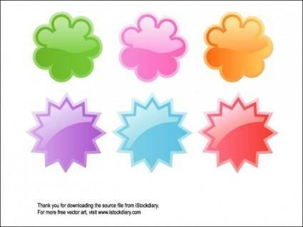 Cute WEB 2.0 Badges