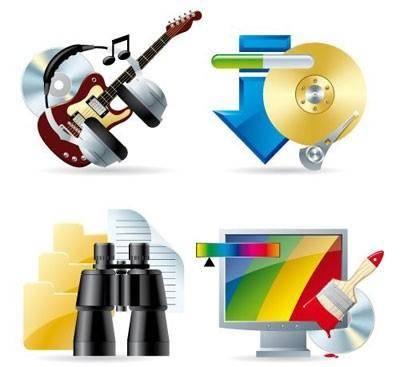 Set of computer & web icons