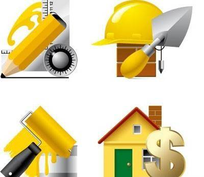 free vector Building website and internet icons