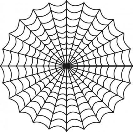 Spiders Web clip art