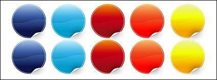 Angular circular web 2.0 style
