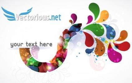 free vector Colorful Vector Element
