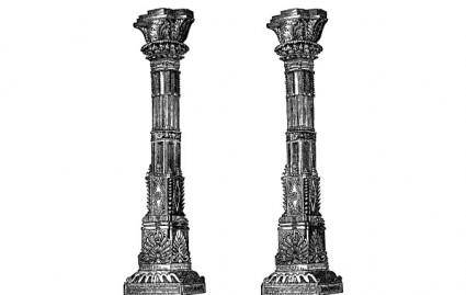 Ancient Temple Columns
