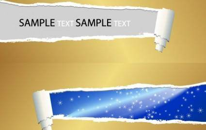 free vector Ripped Paper