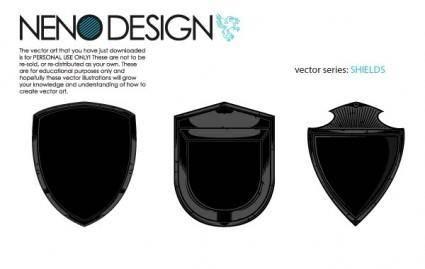 Heraldry shields