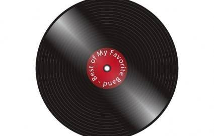 free vector Old Record
