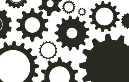free vector Random Free Vectors ? Part 10 Gears