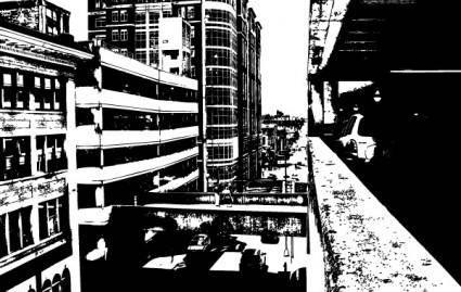 City-Old Factory Vectors