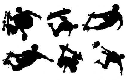 free vector Skate Boarding Art Vectors- Free