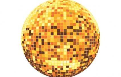 free vector Disco ball