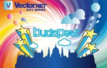 Budapest City Vector