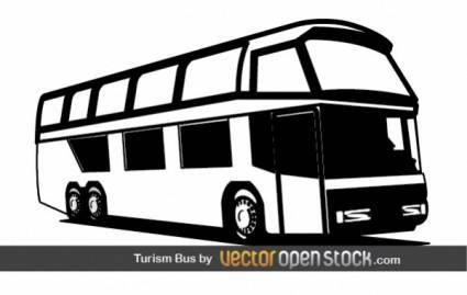 free vector Tourism Bus