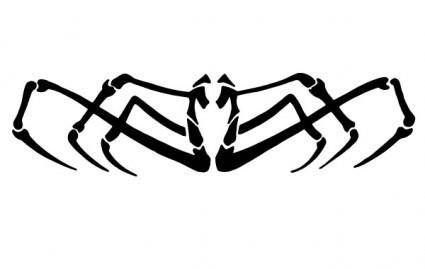 free vector SPIDER VECTOR CLIP ART