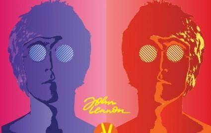free vector John Lennon Poster