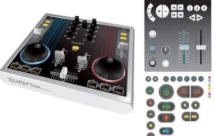 free vector Mixing console