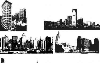 free vector City Skyline Vector Images