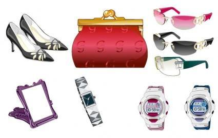free vector Female accessories