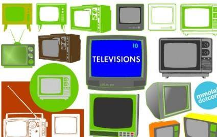 free vector Vector Televisions