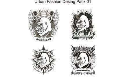 free vector Urban Fashion Design