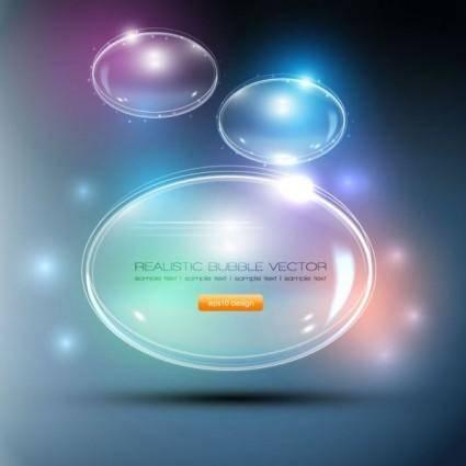 Gorgeous bubble 05 vector