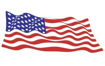 free vector Sample file from USA flags vector pack