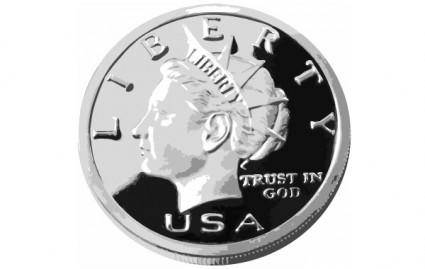 free vector 25CENTS 2 USA COIN